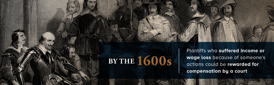 By the 1600s