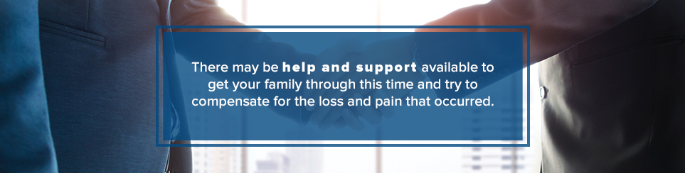 Find help and support during this time
