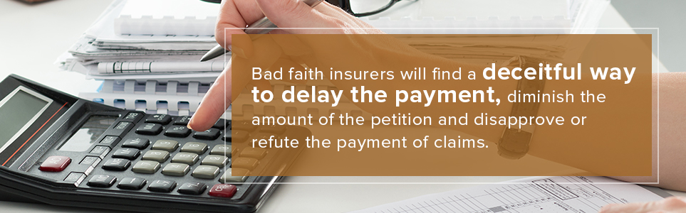 Bad Faith Insurers
