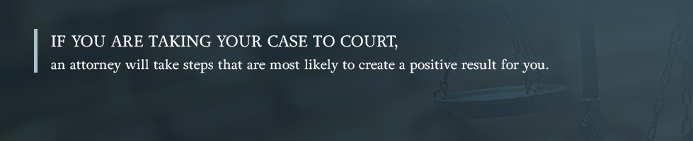 Take your case to court with an attorney.