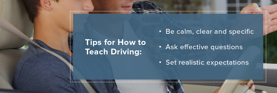 Tips for How to Teach Driving