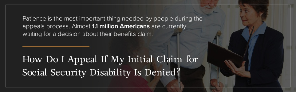 Appealing SSI Disability Denial