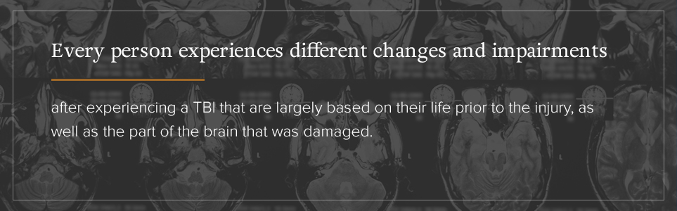 Changes and impairments affect every person differently.