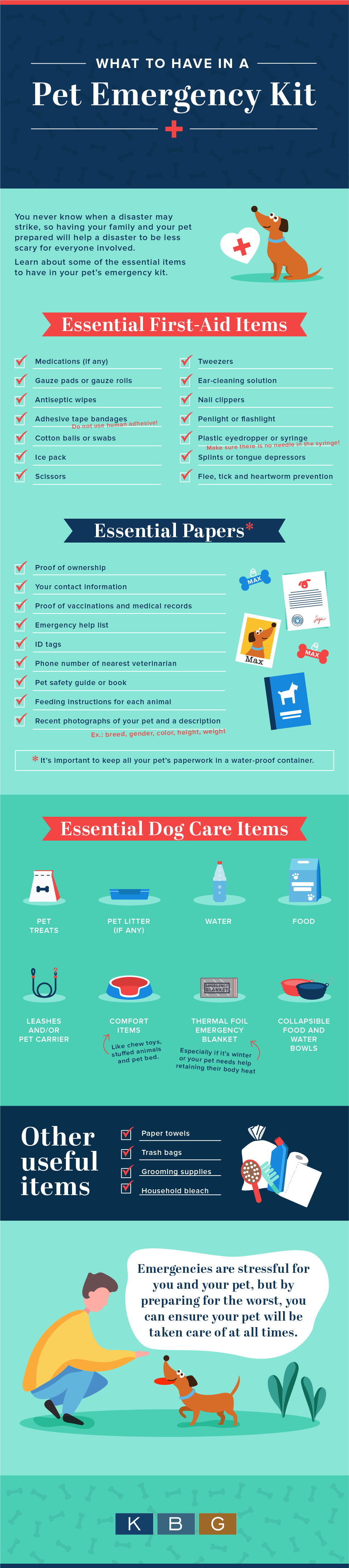 What to Have in a Pet Emergency Kit
