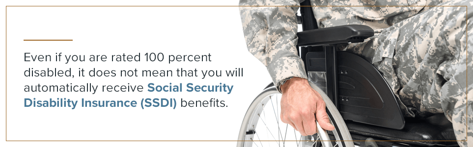 You may not automatically receive Social Security Disability Insurance (SSDI) benefits.