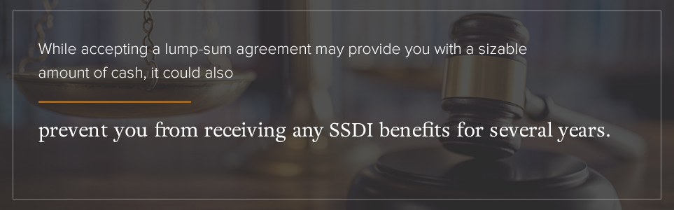 why does a structured settlement make sense?