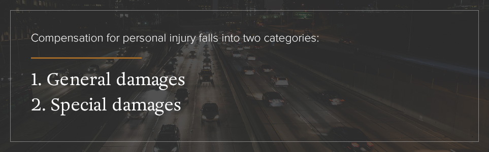 Categories of Personal Injury Compensation