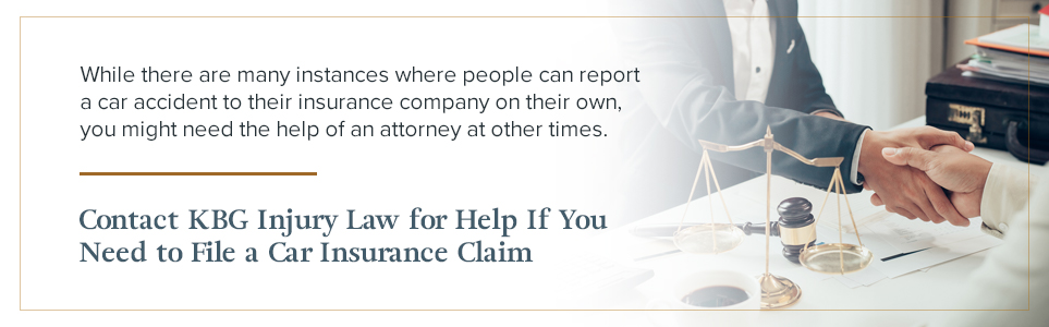 Contact KBG Injury Law for Help Filing Your Claim