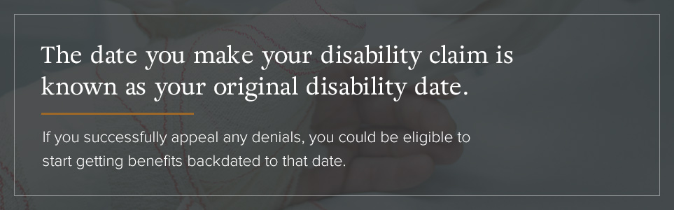 Original Disability Date