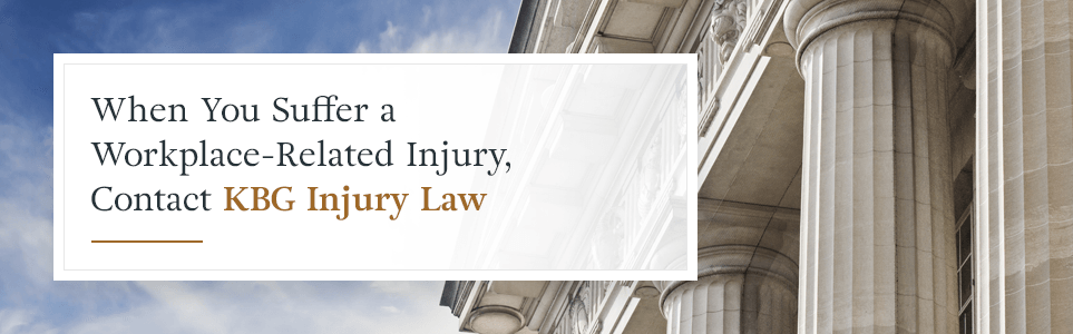 Contact KBG Injury Law for help with your workers' comp case.