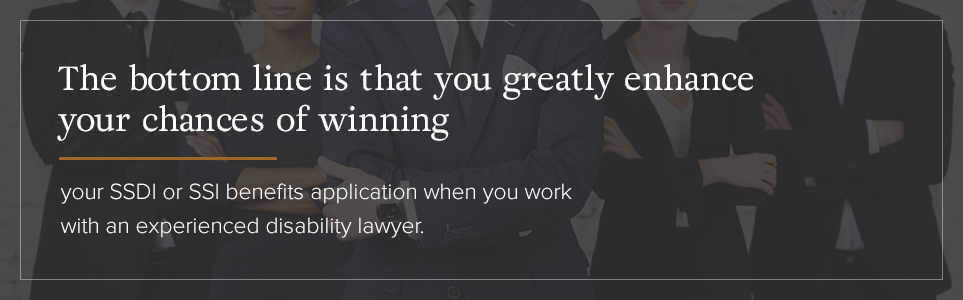 Increase Your Changes of Sucess with a SSDI Lawyer