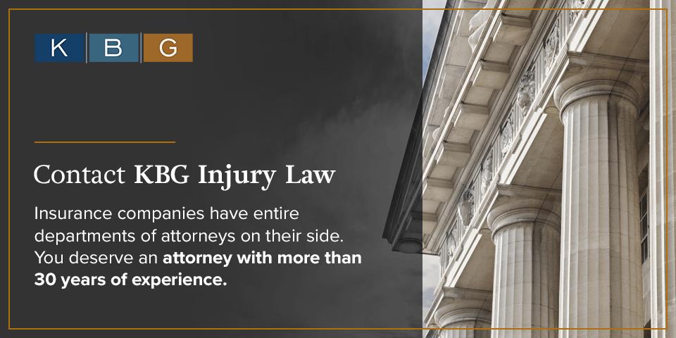 Contact KBG Injury Law