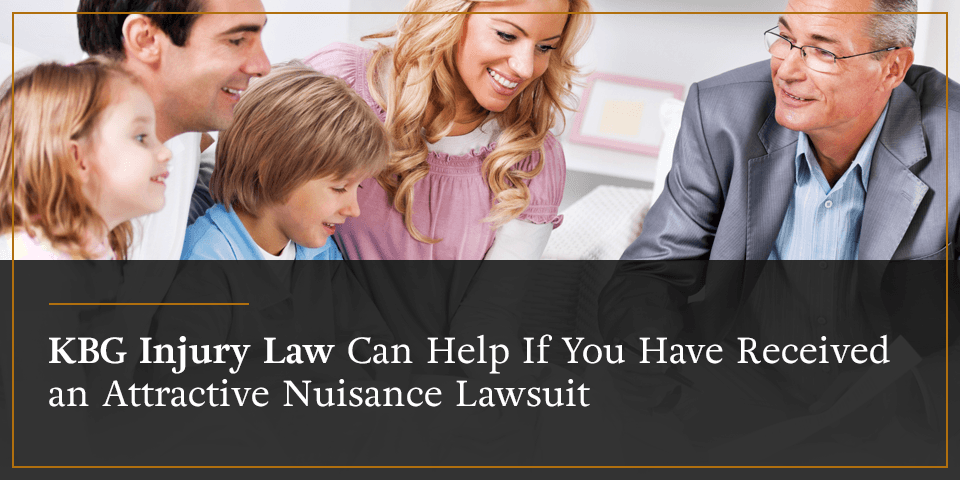 KBG Injury Law can help if you have received an attractive nuisance lawsuit.