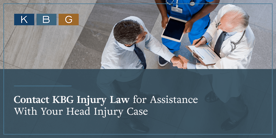 Contact KBG Injury Law for assistance with your head injury case.