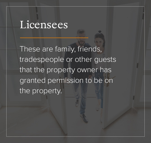 Licensees defined