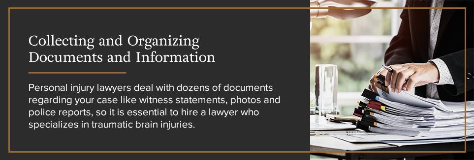 Collecting and Organizing Documents and Information