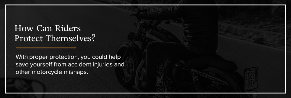 How can riders protect themselves?