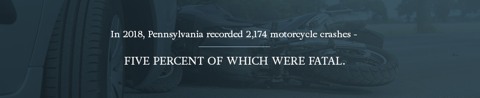 Pennsylvania recorded 5% fatal motorcycle accidents in 2018
