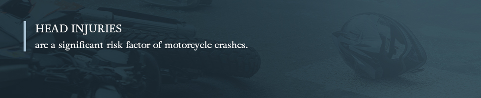 head injuries are a common and severe motorcycle accident injury