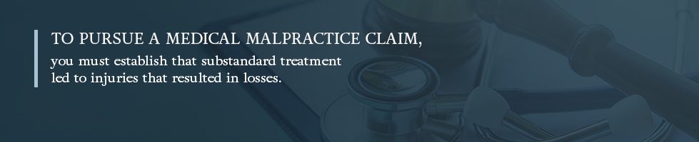 How to pursue a medical malpractice claim