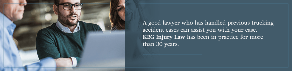 A good lawyer who has handled previous trucking accident cases can assist you with your case.
