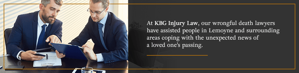At KBG Injury Law, our wrongful death lawyers have assisted people in Lemoyne cope with the unexpected news of a loved one's passing.