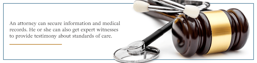 What a medical malpractice attorney can help with.