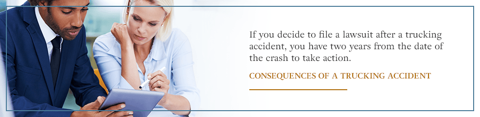 Consequences of a Trucking Accident