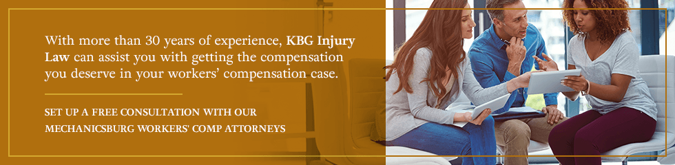 Set up a free consultation with our Mechanicsburg worker's comp attorneys.