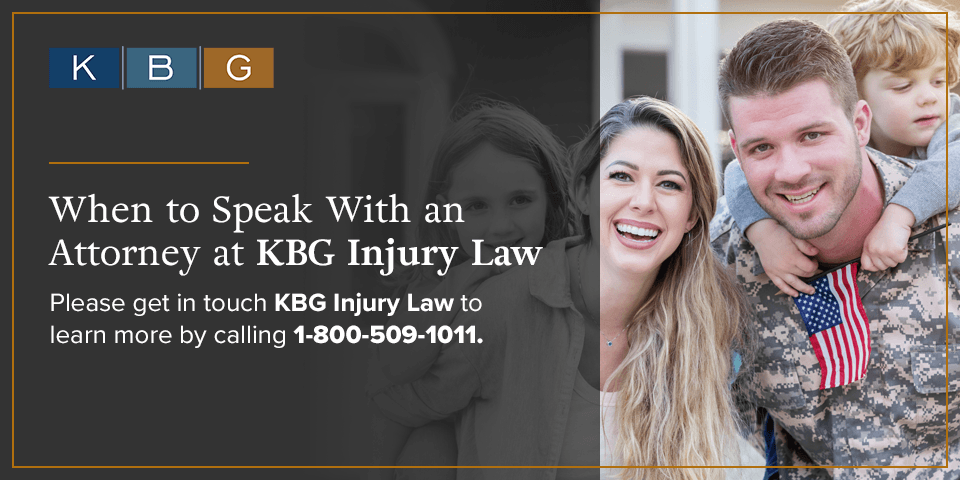 Speak to an attorney at KBG Injury Law.