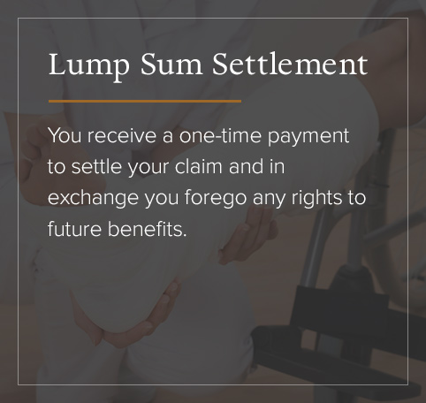 Lump Sum Settlement defined